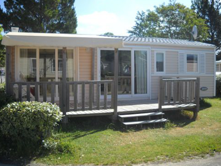 Location mobil home au camping a Saint Jean de Monts, Les Jardins de l'Atlantique